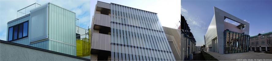 リニット(溝型ガラス)は最大長さ5.8mのコの字型をしたガラスです。外光や照明と利用したガラス壁面の構成が可能で、縦使い、横使い、斜め使いが可能です。連続性のガラス壁構成、ガラス曲線構成が容易です。また、強化ガラス、カラータイプ(セラミックカラー)などがあります。
